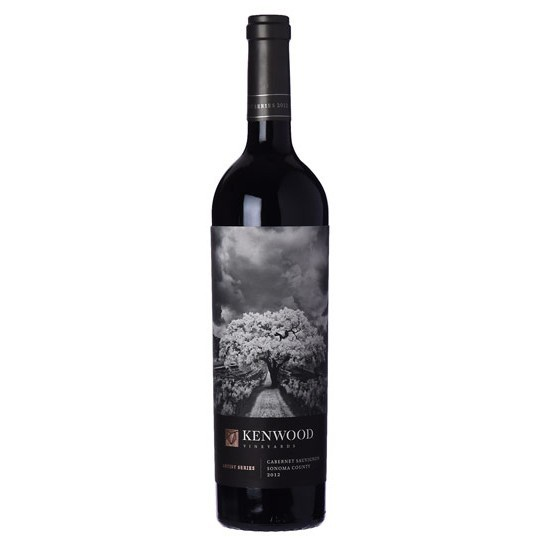 Kenwood Vineyards Artist Series Cabernet Sauvignon, Sonoma County 2012