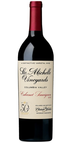 Chateau Ste. Michelle Columbia Valley Cabernet Sauvignon 50th Anniversary 2015