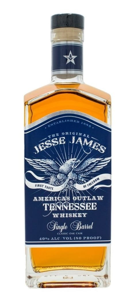 The Original Jesse James America's Outlaw Single Barrel Whiskey