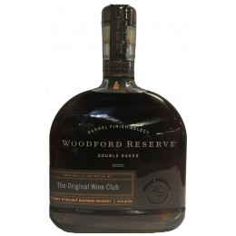 Woodford Reserve Single Barrel Double Oaked Kentucky Straight Bourbon Whiskey The Original Wine Club Selection