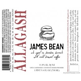 Allagash James Bean 2016